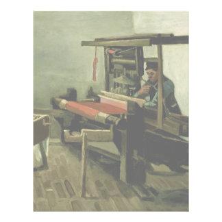Tejedor de Vincent van Gogh Flyer A Todo Color