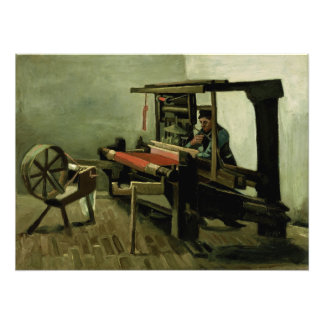 Tejedor de Vincent van Gogh Cojinete