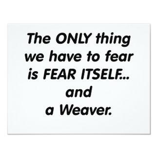 tejedor del miedo comunicado