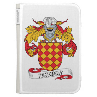Tejedor Family Crest Kindle 3G Cases