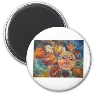 Tejedor ideal imán redondo 5 cm