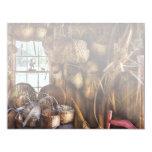 Tejedor - tengo gusto de tejer invitación 10,8 x 13,9 cm