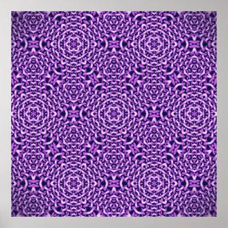 tejido de chains.pink (i) póster