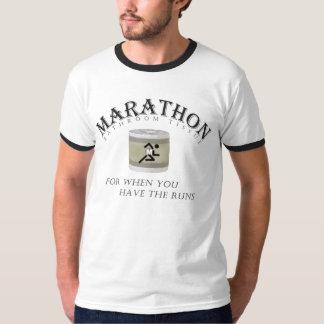 Tejido de cuarto de baño del maratón, porque polera