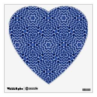 tejido del azul de las cadenas (i)