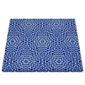 tejido del azul de las cadenas (i) lona estirada galerias