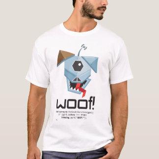 ¡TEJIDO! Detector del perro de Robo Playera