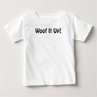 ¡Tejido él para arriba! Camiseta infantil Playera