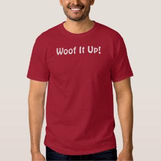 ¡Tejido él para arriba! Camiseta oscura básica Camisas
