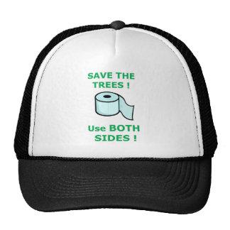 tejido por completo gorras de camionero