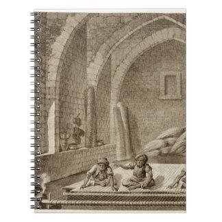 Tejiendo una manta, de artes del volumen II y de c Cuadernos