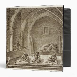 """Tejiendo una manta, de artes del volumen II y de Carpeta 1 1/2"""""""