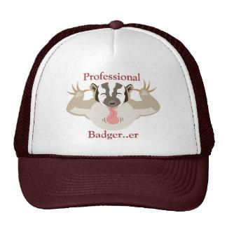 Tejón de Badger_Professional que acosa… er Gorras De Camionero