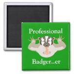 Tejón de Badger_Professional que acosa… er Imán Para Frigorifico