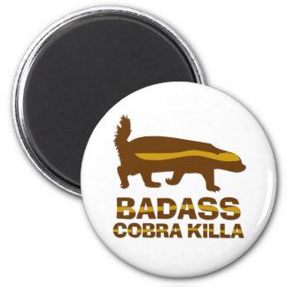 Tejón de miel - cobra Killa de Badass Imanes De Nevera