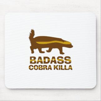 Tejón de miel - cobra Killa de Badass Mouse Pads