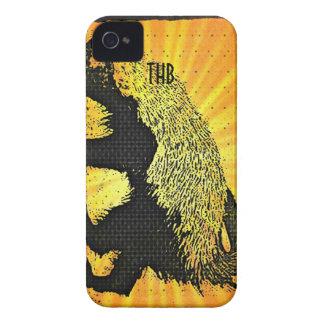 Tejón de miel del resplandor solar Case-Mate iPhone 4 cárcasa