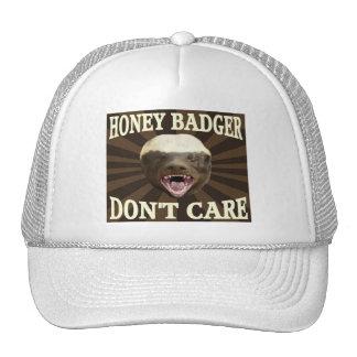 Tejón de miel gorra