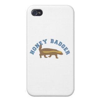 tejón de miel iPhone 4 fundas