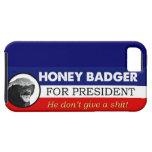 Tejón de miel para el presidente iPhone 5 cobertura