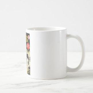 Tejón de miel retro tazas de café