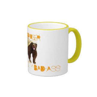 Tejón de miel taza de café