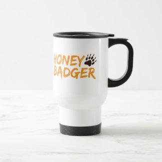 Tejón de miel taza de viaje