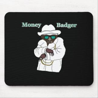 Tejón del dinero tapetes de raton