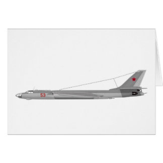 Tejón del Tupolev Tu-16 Tarjetón