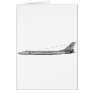 Tejón del Tupolev Tu-16 Felicitaciones