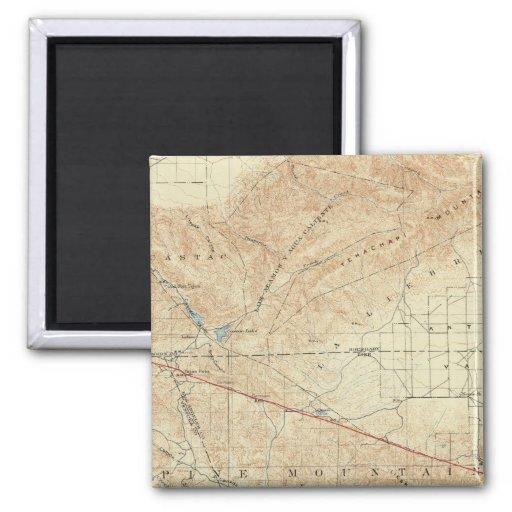 Tejon quadrangle showing San Andreas Rift Magnets
