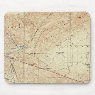 Tejon quadrangle showing San Andreas Rift Mouse Pad