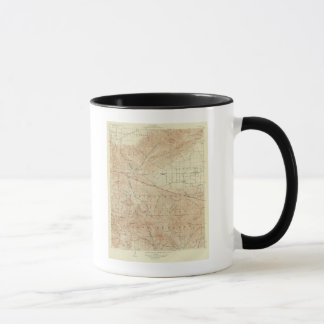 Tejon quadrangle showing San Andreas Rift Mug
