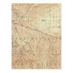 Tejon quadrangle showing San Andreas Rift Postcards