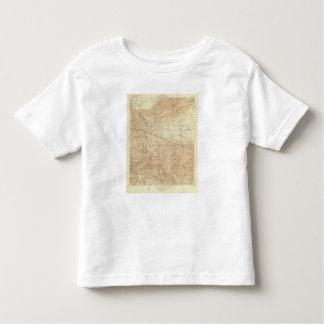 Tejon quadrangle showing San Andreas Rift Toddler T-shirt