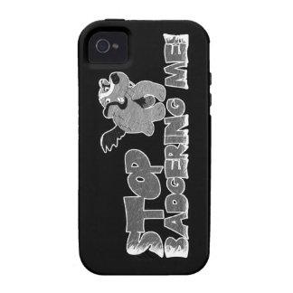 Tejón Vibe iPhone 4 Carcasas