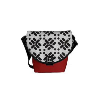 """""""Teku"""" Print Mini-Messenger Bag Messenger Bag"""