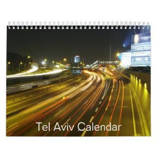 Tel Aviv Calendar