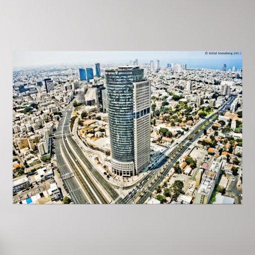 Tel Aviv céntrica Póster