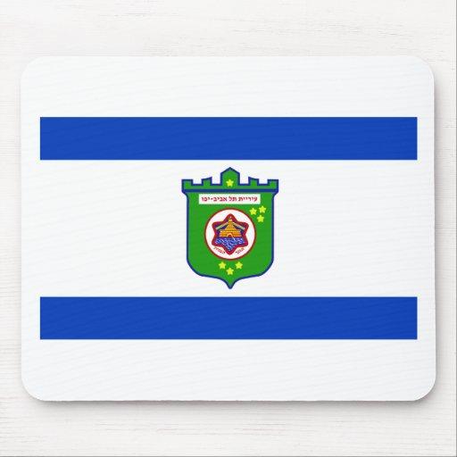 Tel Aviv Flag Mouse Pad