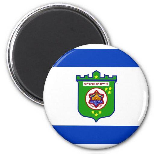 Tel Aviv, Israel 2 Inch Round Magnet