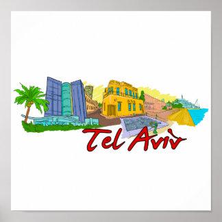 Tel Aviv - Israel.png Póster