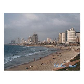 Tel Aviv, Israel Tarjeta Postal