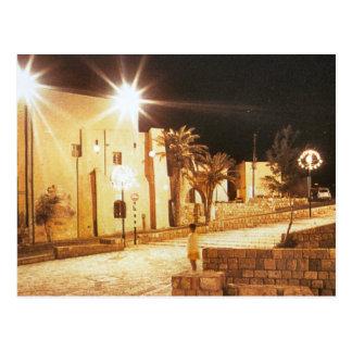 Tel aviv - Jaffa by night Postcard