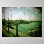 Tel Aviv / Jaffa Docks Print