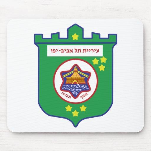 Tel Aviv Seal - Symbol - Logo Mouse Pads