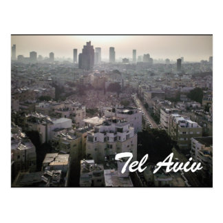Tel Aviv skyline Post Card