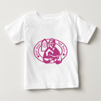 Tel Aviv Stamp Infant T-shirt