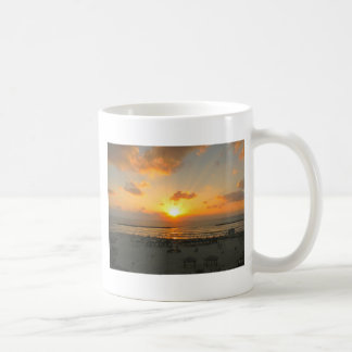 Tel Aviv Sunset Coffee Mug