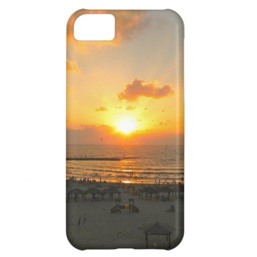 Tel Aviv Sunset iPhone 5C Cover